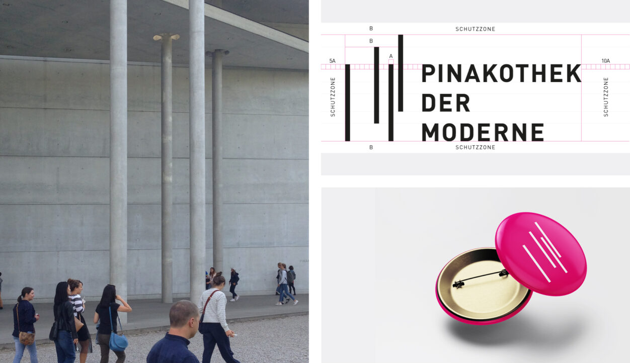 Menschen in Pinakothek der Moderne